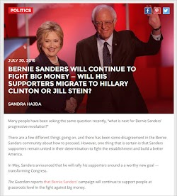 20160730_0800 Bernie Sanders Will Continue To Fight Big Money -- Will His Supporters Migrate.jpg