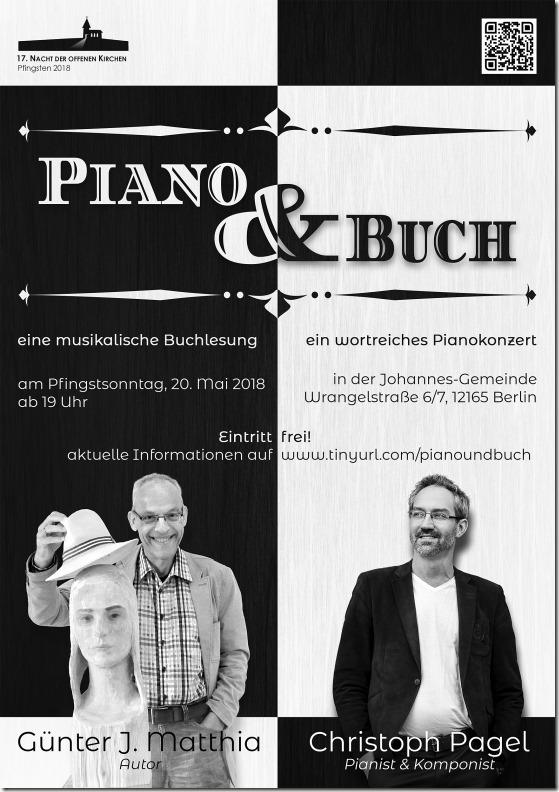 Piano und Buch - A5