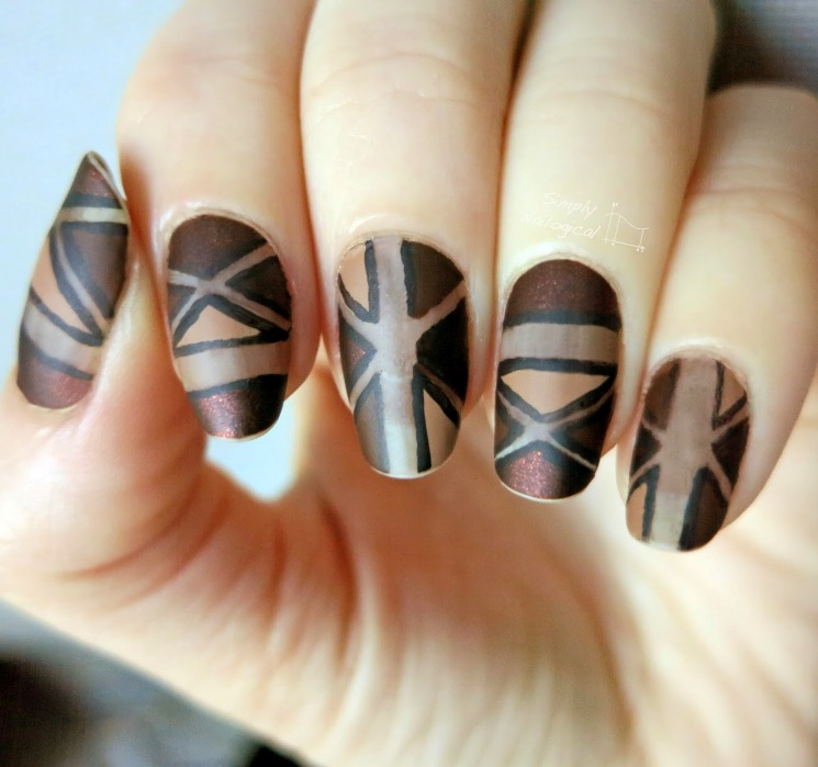 Crispy and Fun Brown Nail Designs For 2017 - Styles Art