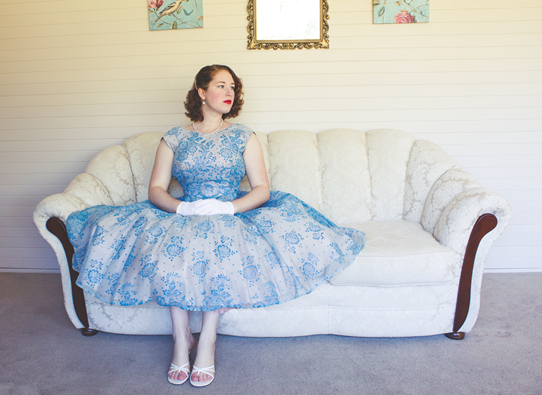 My favourite vintage gown | Lavender & Twill