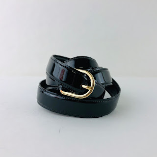 Nina Ricci Patent Leather Belt