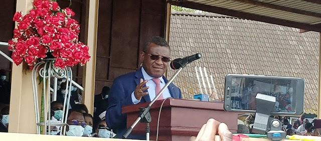 PM Dion Ngute Announces start of construction works on Bamenda-Babajou