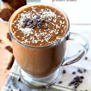 Chocolate Mocha Protein Shake.