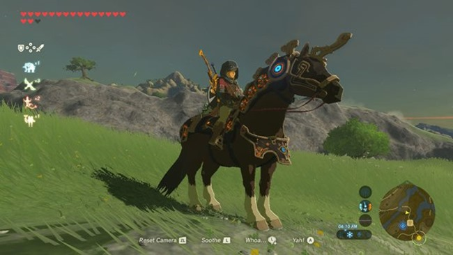 zelda breath of the wild champions ballad ancient horse gear guide 01