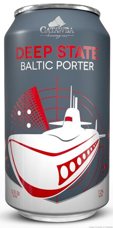 Deep State Baltic Porter Arrives at Catawba Brewing