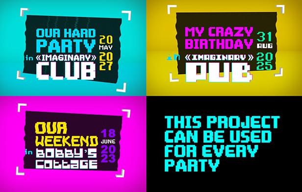 Glitch Party Slideshow - 1