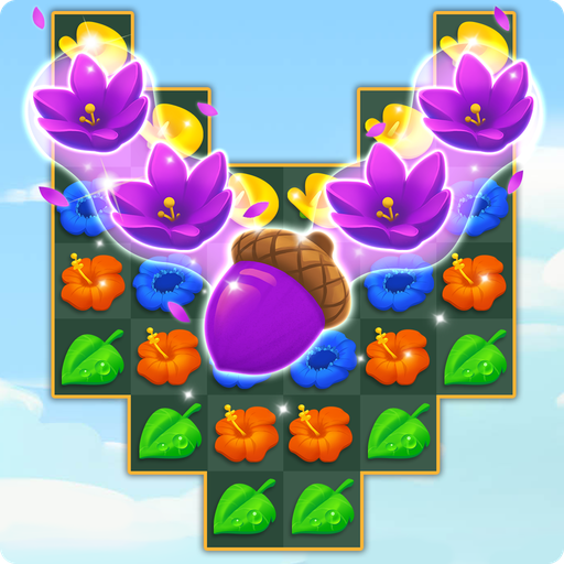 Flower Power Match 3 Android APK Download Free By Bubble Shooter Games By Ilyon