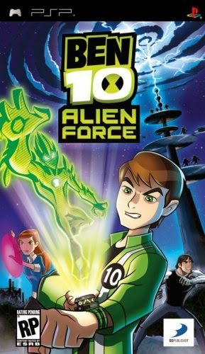 Download Ben 10: Alien Force - Game PSP Iso