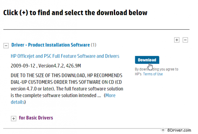 download HP PSC 2110xi All-in-One Printer driver 3