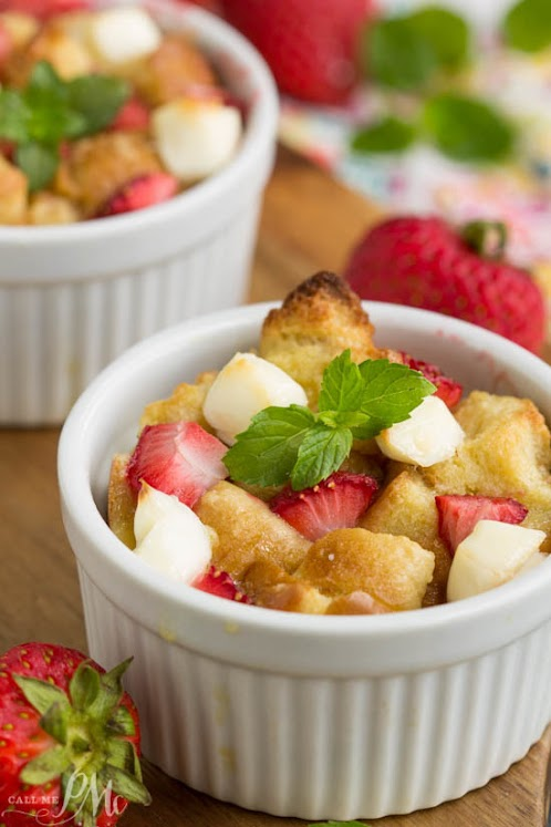 Strawberry Stuffed French Toast Casserole