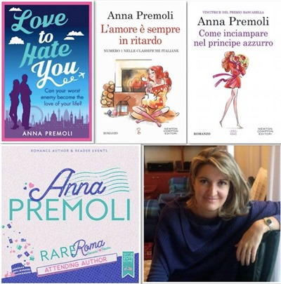 Anna Premoli al Rare di Roma
