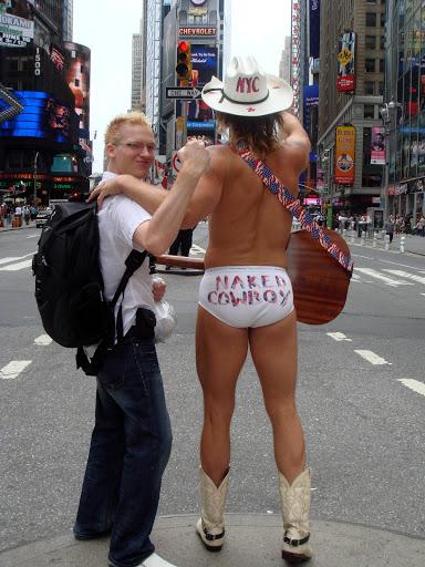 New york naked
