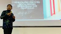 Teuku Irfan Fajri, S.Kom., M.M.S.I. Jadi Pemateri Pelatihan Jurnalistik Dasar