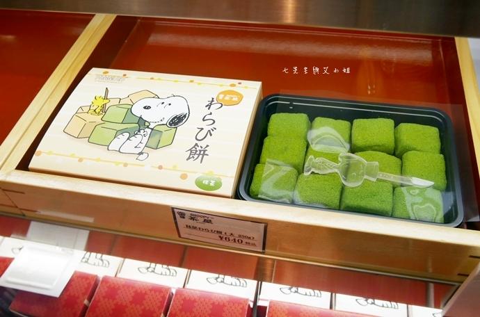 24 日本京都 錦市場 史努比茶屋 スヌーピー茶屋