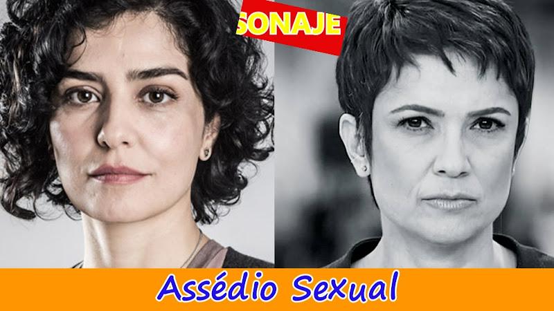 Sandra Annenberg, Letícia Sabatella também já sofreram com Assédio Sexual