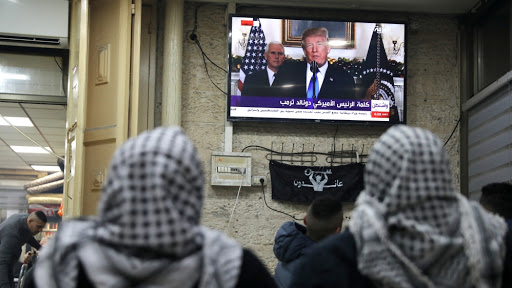 Donald Trump recognises Jerusalem as the capital of Israel