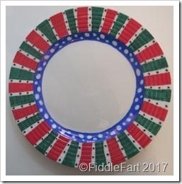 Christmas Plate 5