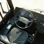 Het dashboard van de Volvo B12 van Bovo Tours bus 249