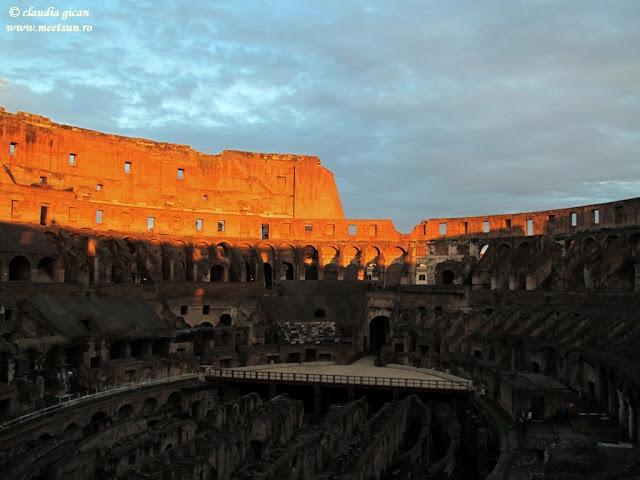 Colosseum la apus de soare