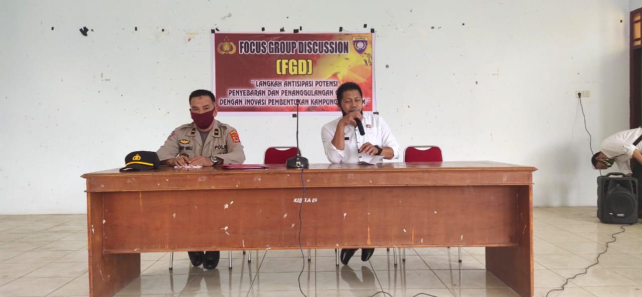 Hadapi New Normal, Sat Binmas Polres Soppeng Gelar FGD
