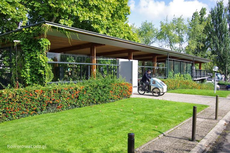 Parking rowerowy dla urzędników Grand Strasburg