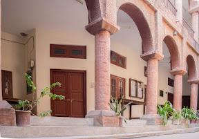 class veranda & brick arches