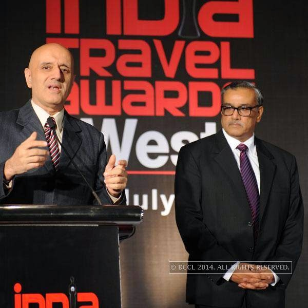 Parvez Dewan during India Travel Awards, held in Pune.