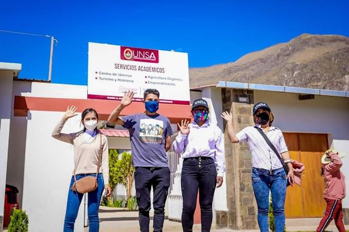 UNSA en Cotahuasi, ya es una realidad