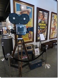 Old Movie Cameras, Museum of Western Film History, Lone Pine CA