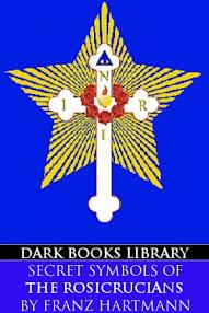 Cover of Franz Hartmann's Book Secret Symbols of the Rosicrucians