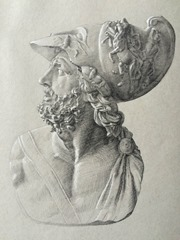 """Bust of Menelaus""_James Adkins"