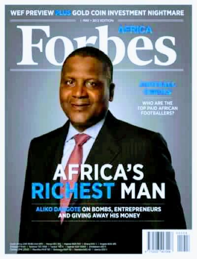 2017 top ten list of richest people in Nigeria