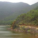 La lac au-dessus de Yulong (Yulong Xueshan, 3250 m), au Nord de Lijiang (Yunnan), 17 août 2010. Photo : J.-M. Gayman