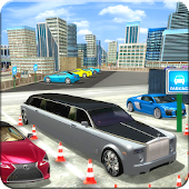 Limo Parking Plaza Driving Simulation