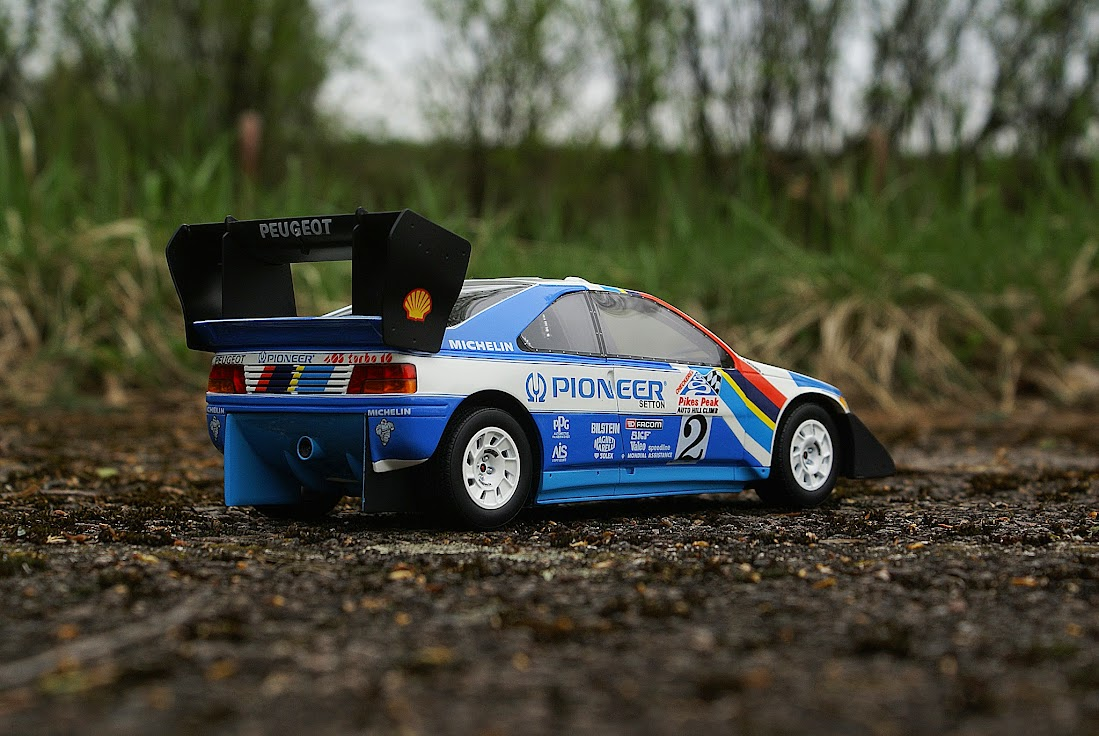 Otto Peugeot 405 Pikes Peak  DX Rally Cars  DiecastXchangecom