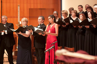 Daniel Lynch, Jr., tenor, Alicia Luick, mezzo-soprano, Bruce Cain, bass, Katie De La Vega, soprano. Photos by TOM HART/ FREELANCE PHOTOGRAPHER