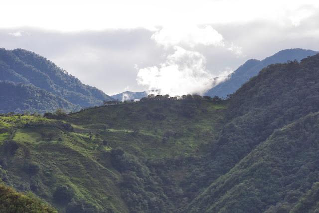 Entre Apuela et Peñaherrera, Intag (Imbabura, Équateur), 10 décembre 2013. Photo : J.-M. Gayman