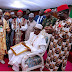 Photos: Buhari Receives Igbo Chieftaincy Titles