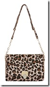Hobbs leopard print cross body bag