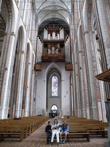 History in  Lubeck Altstadt Saint Mary's Church - Marienkirche, Germany, visiting things to do in Germany, Travel Blog, Share my Trip