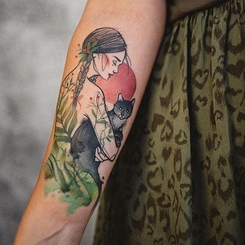 este_cativante_resumo_da_tatuagem_para_mulheres