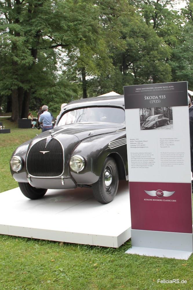 Frühe Meisterwerke 120 Jahre Škoda Sonderausstellung auf der Schloss Bensberg Classics skoda