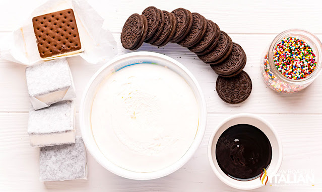 ice cream sandwich cake ingredients
