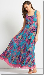 East Hope print maxi dress
