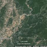 La vallée de l'Ibie en Ardèche entre Lagorce et Vallon-Pont-d'Arc