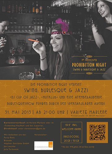 1. Hannoversche Prohibition Night