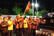 Komunitas SATU HATI bersama MPW PP Sumut, Wartawan DPRD Medan Kembali Gelar Penyemprotan Eco Enzym