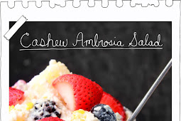 Cashew Ambrosia Salad