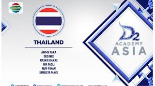 daftar kontestan dacademy asia 2 asal thailand
