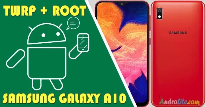 TWRP Root Samsung Galaxy A10